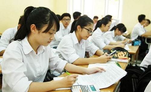 Các trường đại học đã bắt đầu công bố mức điểm sàn nhận hồ sơ xét tuyển của thí sinh