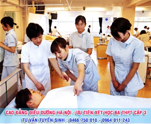 Tiêu chí xét tuyển Cao đẳng Điều dưỡng năm 2016