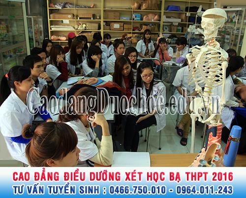 Cao đẳng Điều dưỡng xét tuyển học bạ