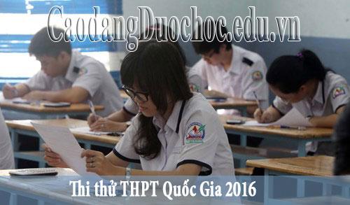 Các thi sinh bắt đầu thi thử THPT Quốc gia 2016