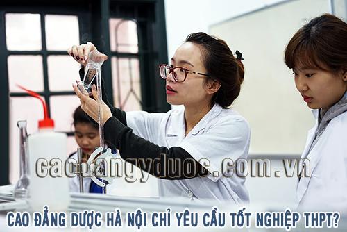 Cao đẳng Dược Hà Nội nguyện vọng 1 lấy bao nhiêu điểm