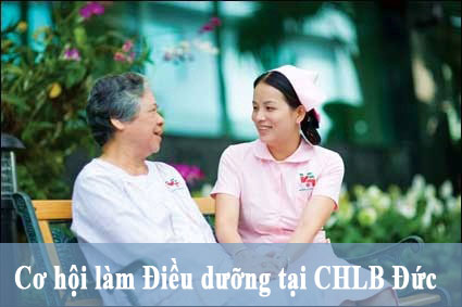 Cơ hội cho lao động ngành Điều dưỡng làm việc tại CHLB Đức