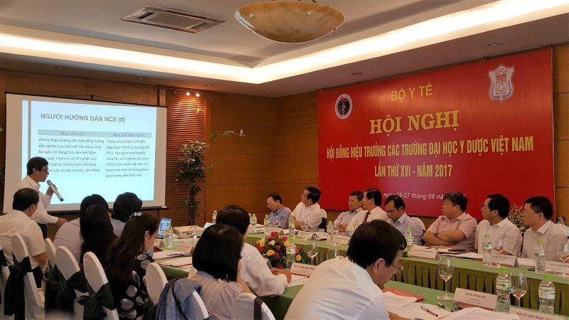 Hội nghị Hiệu trưởng Các trường Đại học Y Dược Việt Nam