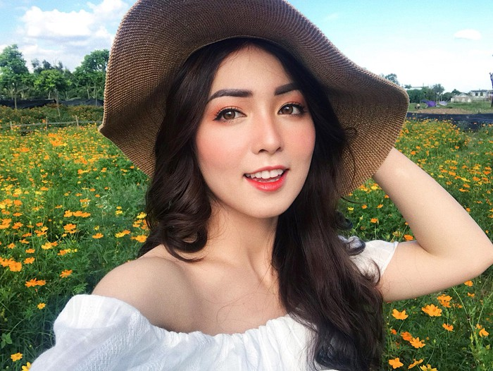 Ngất ngây: Hoa khôi Đại học Y Dược Thái Nguyên 2018 đẹp như gái Tây