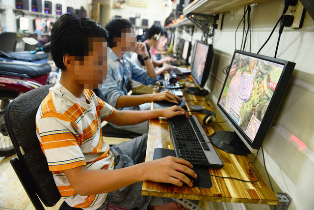 BÁO ĐỘNG: Nhiều thanh thiếu niên nhập viện tâm thần vì nghiện game