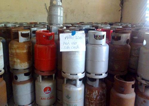 """Bình gas kém chất lượng tiềm ẩn nguy cơ biến bình gas thành """"bom hẹn giờ"""""""