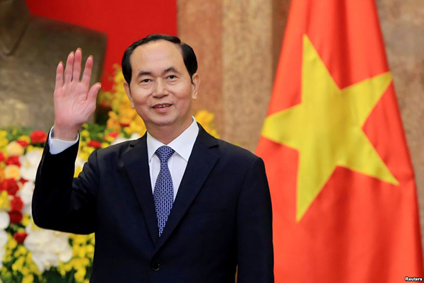 Tin buồn: Chủ tịch nước Trần Đại Quang từ trần vào 10 giờ 5 phút sáng nay