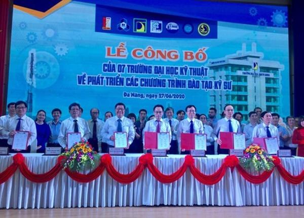7 trường ĐH kỹ thuật hàng đầu Việt Nam ký kết chương trình đào tạo kỹ sư