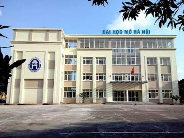 Khuôn viên Trường Đại học Mở Hà Nội