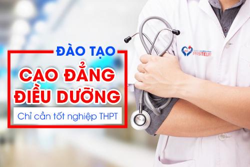 Địa chỉ đào tạo lớp Cao đẳng Điều dưỡng hệ chính quy năm 2019 tại Hà Nội