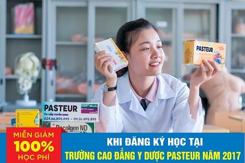 Miễn giảm 100% học phí Trường Cao đẳng Y Dược Pasteur