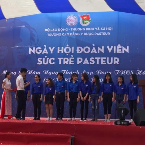Trường Cao đẳng Y Dược Pasteur chào mừng 87 năm Thành lập Đoàn TNCS HCM