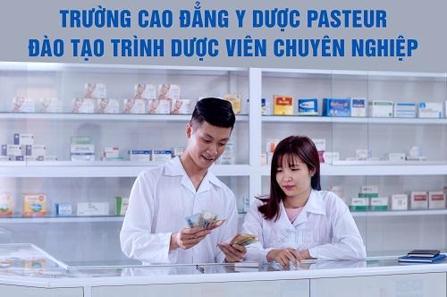 Trường Cao đẳng Y Dược Pasteur đào tạo Trình Dược viên chất lượng cao