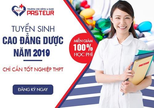 Tuyển sinh Cao đẳng Y Dược năm 2019 miễn 100% học phí