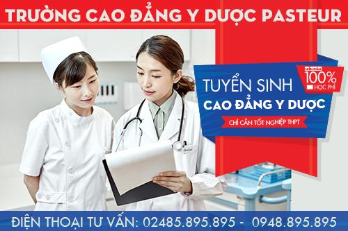 Hướng dẫn nộp hồ sơ xét tuyển Cao đẳng Dược tại Trường Cao đẳng Y Dược Pasteur