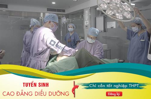 Tuyển sinh Cao đẳng Điều dưỡng Hà Nội năm 2018 tại Quận Đống Đa Hà Nội