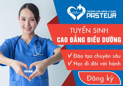 Trường Cao đẳng Y Dược Pasteur là cơ sở đào tạo Điều Dưỡng viên chất lượng