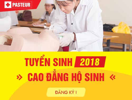 Điều kiện tuyển sinh Cao đẳng Hộ sinh Hà Nội năm 2018