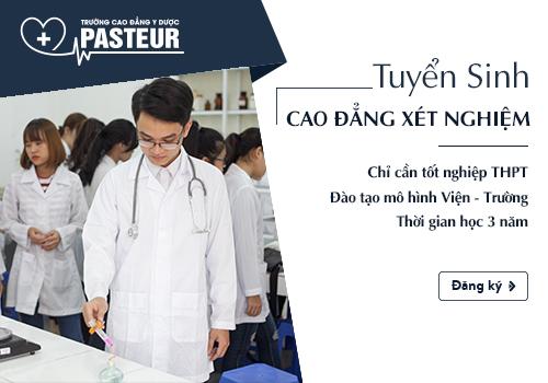 Tuyển sinh Cao đẳng Kỹ thuật Xét nghiệm năm 2018 tại Đống Đa Hà Nội