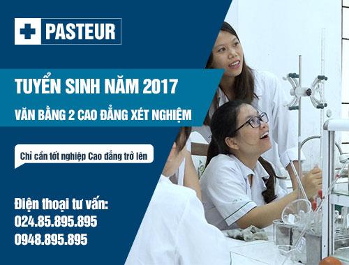 Địa chỉ đào tạo Văn bằng 2 Cao đẳng Xét nghiệm Hà Nội 2017