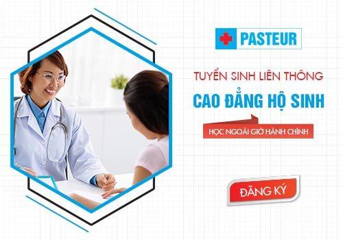 Trường Cao đẳng Y Dược Pasteur tuyển sinh Liên thông Cao đẳng Hộ sinh Hà Nội năm 2018