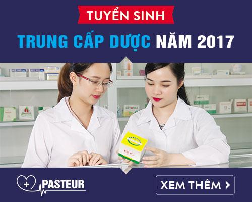Tuyển sinh Trung cấp Dược Hà Nội năm 2017