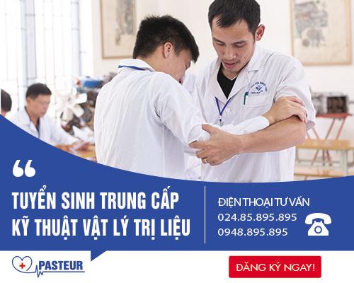 Trường Trung cấp Y Khoa Pasteur tuyển sinh Trung cấp Vật lý trị liệu