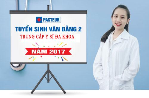 Tuyển sinh Văn bằng 2 Trung cấp Y sĩ đa khoa tại Hà Nội năm 2017