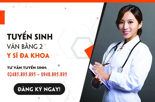Tư vấn Tuyển sinh Văn bằng 2 Trung cấp Y sĩ đa khoa tại Hà Nội năm 2017