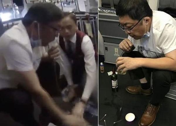 Bác sĩ dùng miệng hút 800ml nước tiểu cứu sống bệnh nhân 70 tuổi trên máy bay