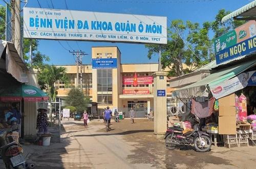 """Sự thật đằng sau: Bảo vệ Bệnh viện Ô Môn, TP. Cần Thơ làm """"bác sĩ"""""""