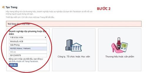 cách lập và thu hút khách hàng trên Fanpage Nhà thuốc - 3
