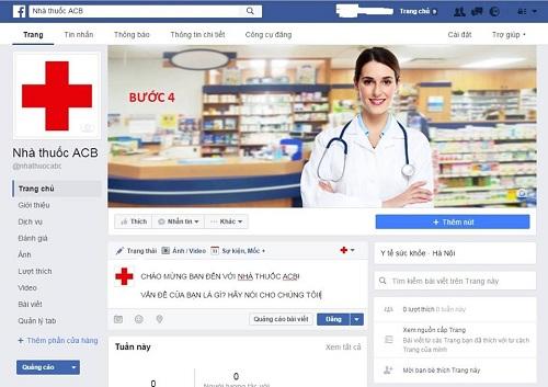 cách lập và thu hút khách hàng trên Fanpage Nhà thuốc -4