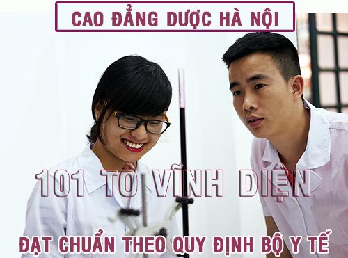 Cao đẳng Dược Hà Nội năm 2016 có xét học bạ không?