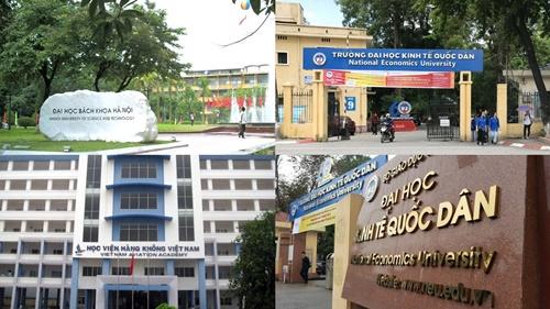 Điểm mặt điểm sàn xét tuyển của 3 trường đại học lớn nhất Hà Nội năm 2018