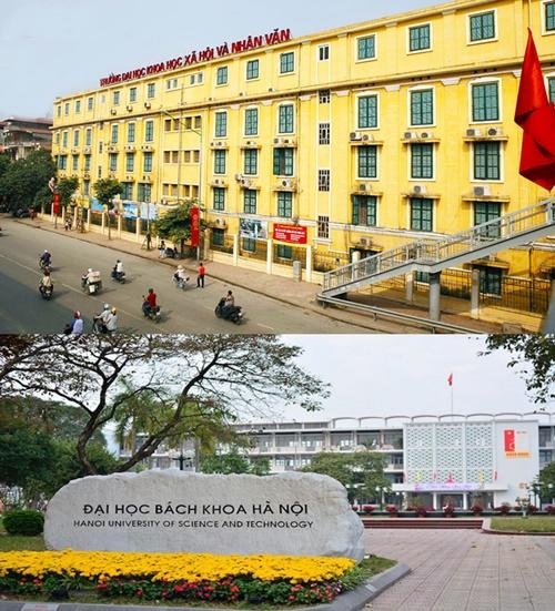 Đại học KH và NV – ĐHQG Hà Nội và ĐH Bách Khoa công bố điểm xét tuyển