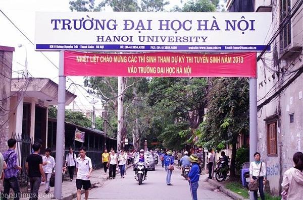 Đại học Hà Nội trình độ ngoại ngữ tốt