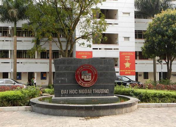 Điểm chuẩn xét tuyển bằng học bạ Đại học Ngoại Thương 2020