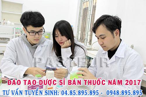 Đào tạo Dược sĩ bán thuốc chuyên nghiệp năm 2017