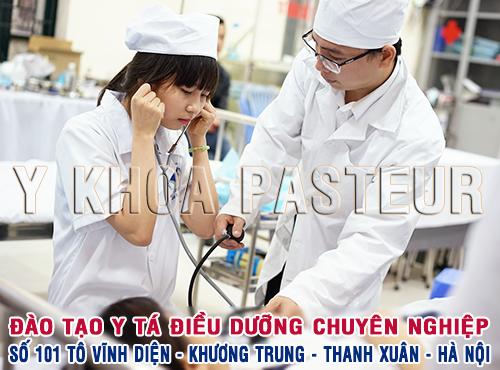 Tuyển sinh Văn bằng 2 Trung cấp Điều dưỡng Hà Nội năm 2017