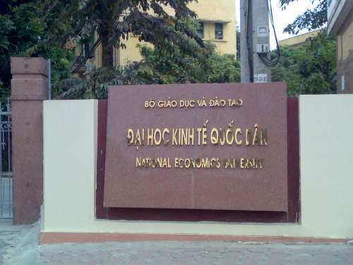 Đại học Kinh tế quốc dân tuyển sinh 2018