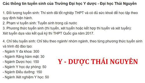 Đại học Y Dược - Đại học Thái Nguyên