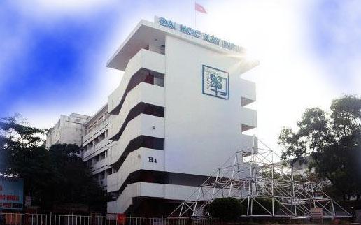 Sinh viên Đại học Xây dựng Hà Nội học vất vả nhất