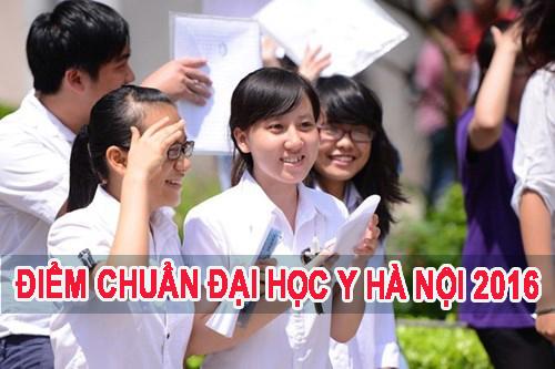 Điểm chuẩn trường Đại học Y Hà Nội năm 2016 theo dự kiến
