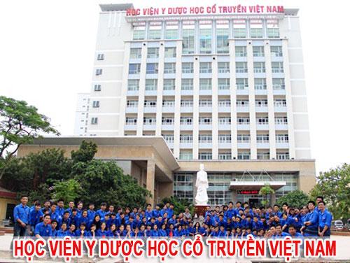 Điểm chuẩn NV2 Học viện Y Dược học cổ truyền Việt Nam năm 2016