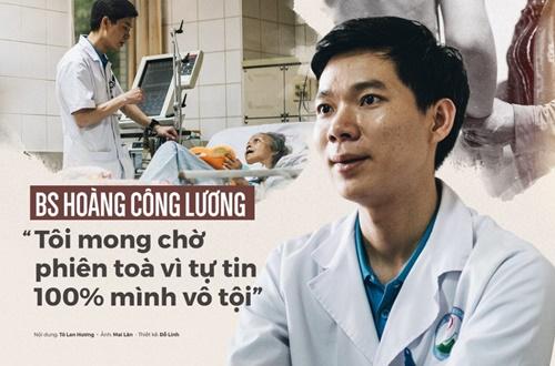 Bác sĩ Hoàng Công Lương luôn tự tin mình hoàn toàn vô tội