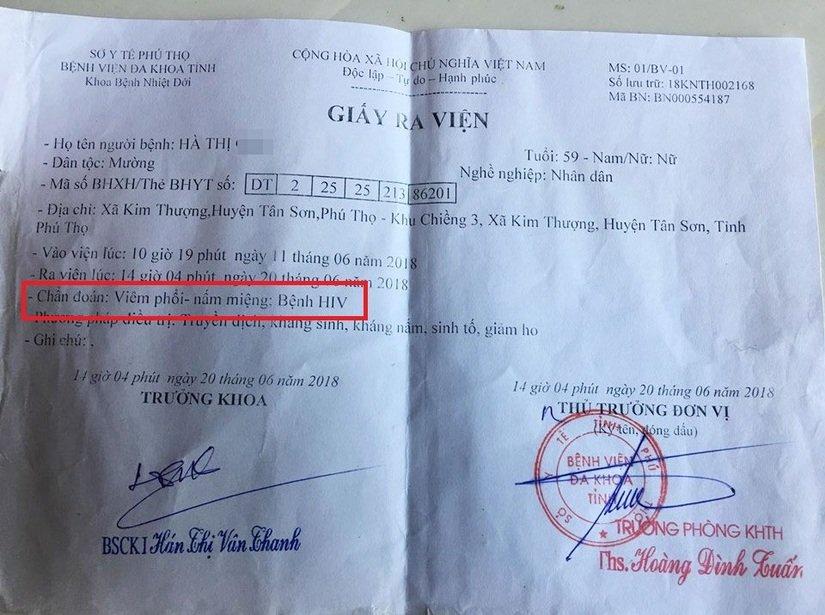 Bác sĩ dùng chung kim tiêm khiến cả xã miền núi Phú Thọ chao đảo vì HIV?