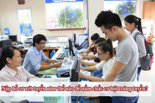 Hướng dẫn cách nộp hồ sơ xét tuyển