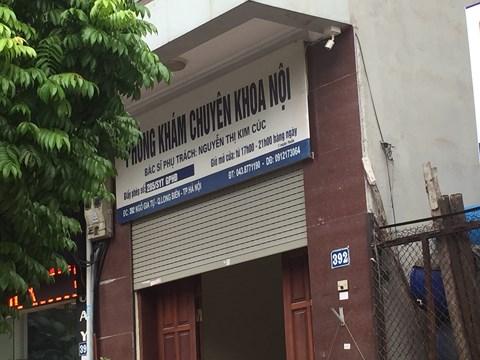 Bé trai 22 tháng tuổi tử vong sau truyền dịch tại phòng khám tư ở Hà Nội