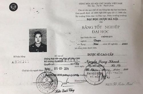 Phó Chủ tịch Hiệp hội Chống hàng giả Việt Nam dùng bằng Dược sĩ giả?